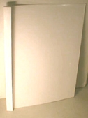 thermal binding cover white